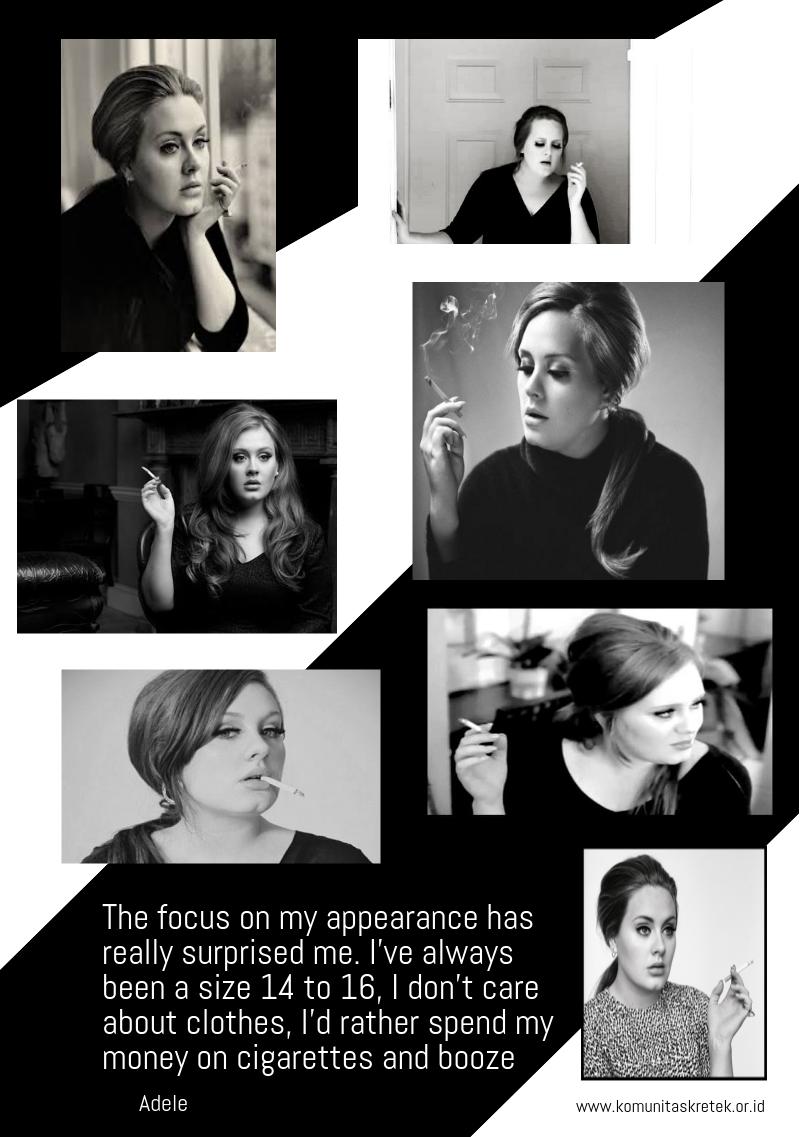 Infografis Adele