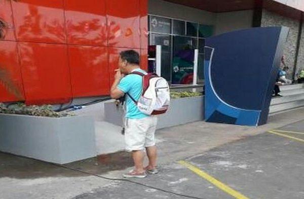 Turis yang Merokok di Jakabaring Tak Sepenuhnya Bersalah