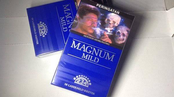 Rokok magnum blue